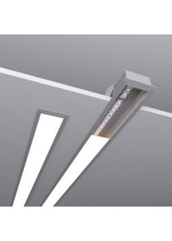Встраиваемый линейный светодиодный светильник SUNLine V - 485х63х32мм, 12Вт, 1092Лм, IP20