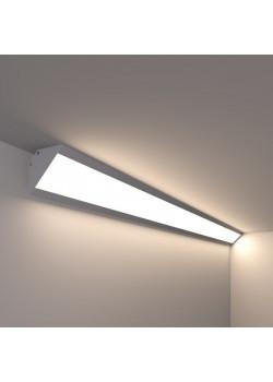 Угловой линейный светодиодный светильник SUNLine L - 475x64х23мм, 12Вт, 1092Лм, IP20