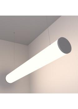 Цилиндрический линейный светодиодный светильник SUNLine С - 475xd120мм, 24Вт, 2184Лм, IP20