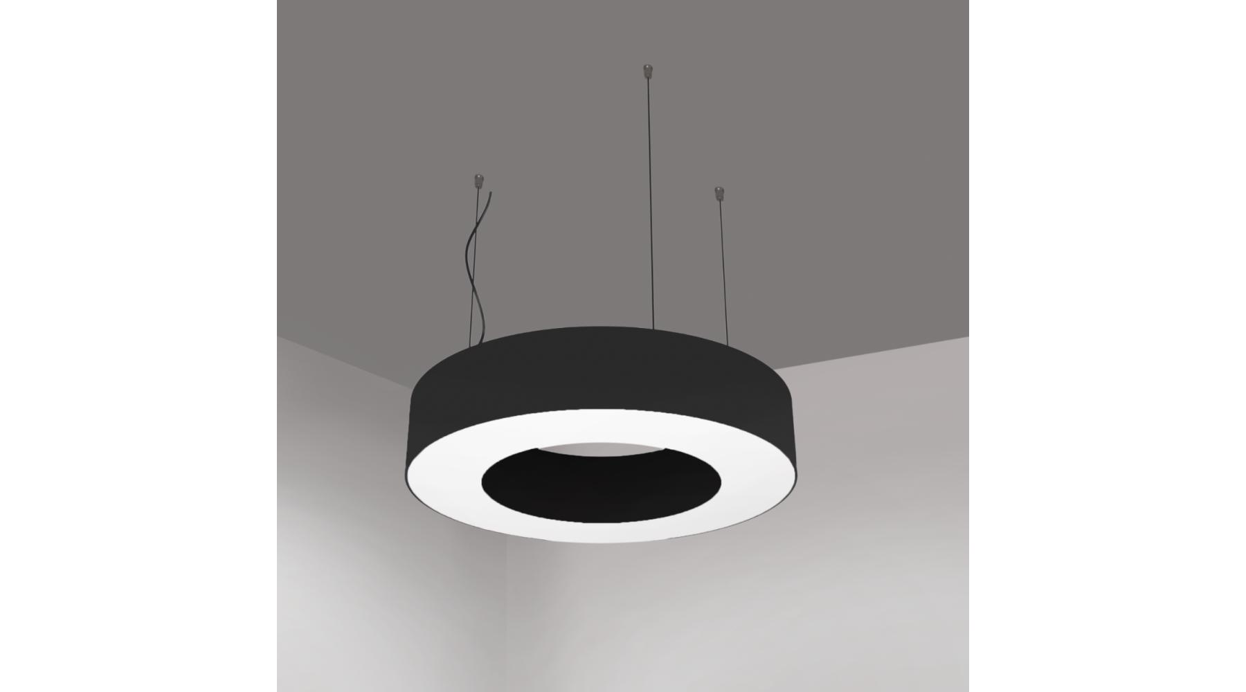 Кольцевой светодиодный светильник SUNRing - d600х100мм S=80мм, 41Вт, 3730Лм, IP20