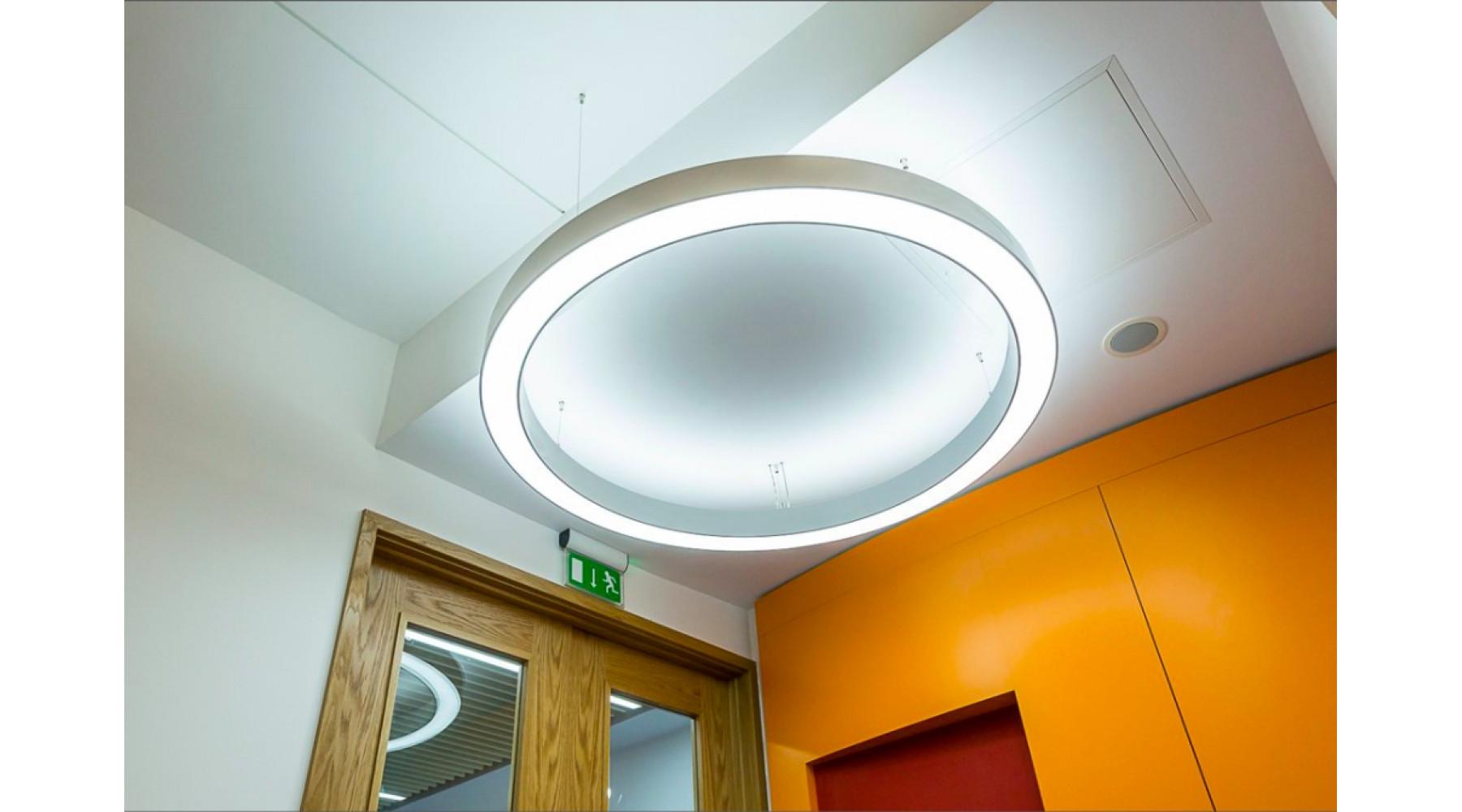 Кольцевой светодиодный светильник SUNRing - d1000х100мм S=80мм, 71Вт, 6461Лм, IP20
